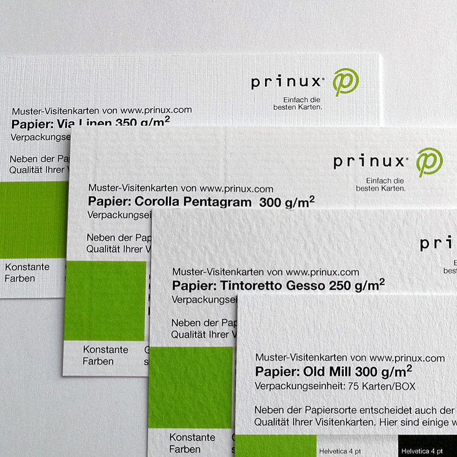 Die Besten Papier Kartonsorten Für Visitenkarten Prinux