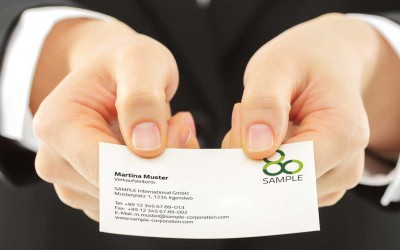 Visitenkarten-Qualität: Warum die Papier-Laufrichtung so wichtig ist