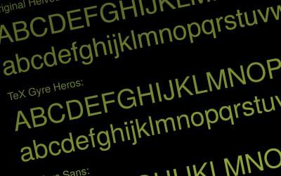 Helvetica & Co: Klassische Fonts – gratis oder günstig