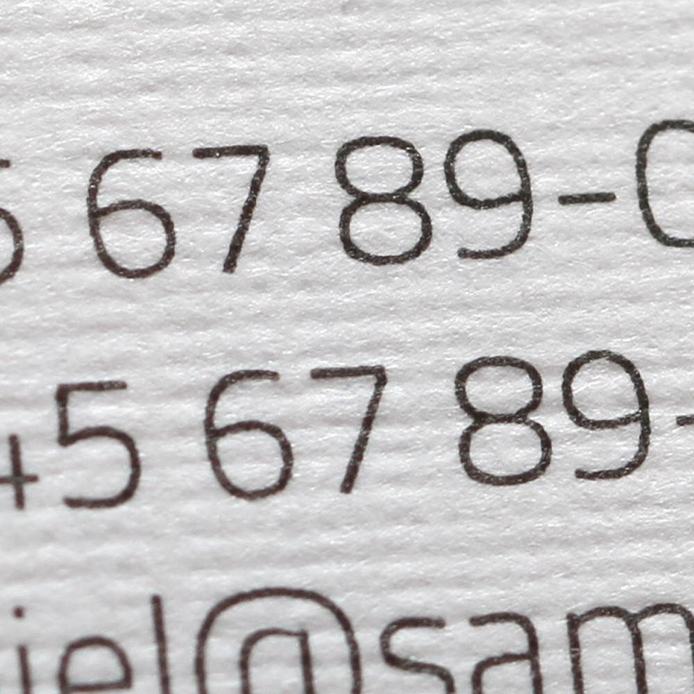 Visitenkarten-Strukturpapier