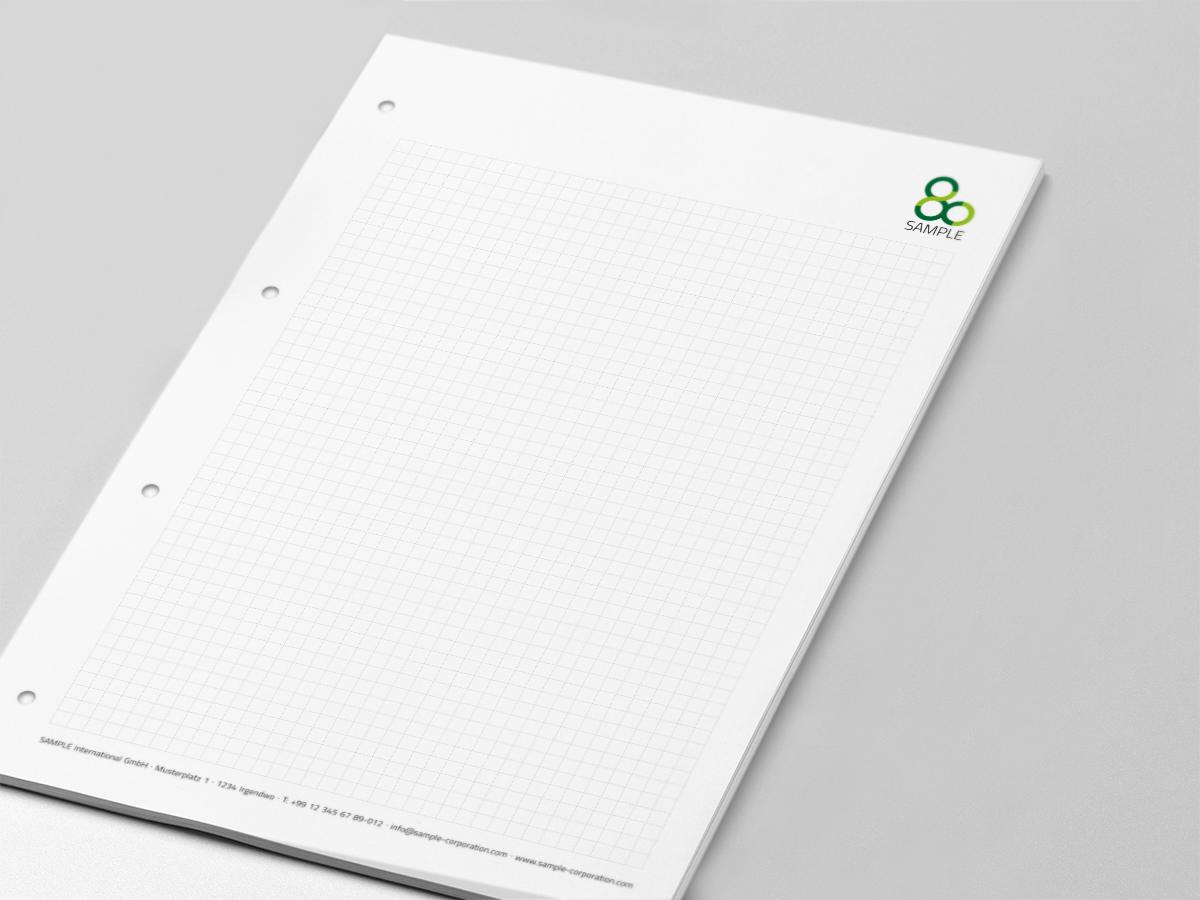 Notepads with logo