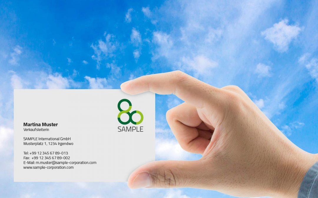 Umweltfreundliche Visitenkarten Auf Das Papier Kommt Es An